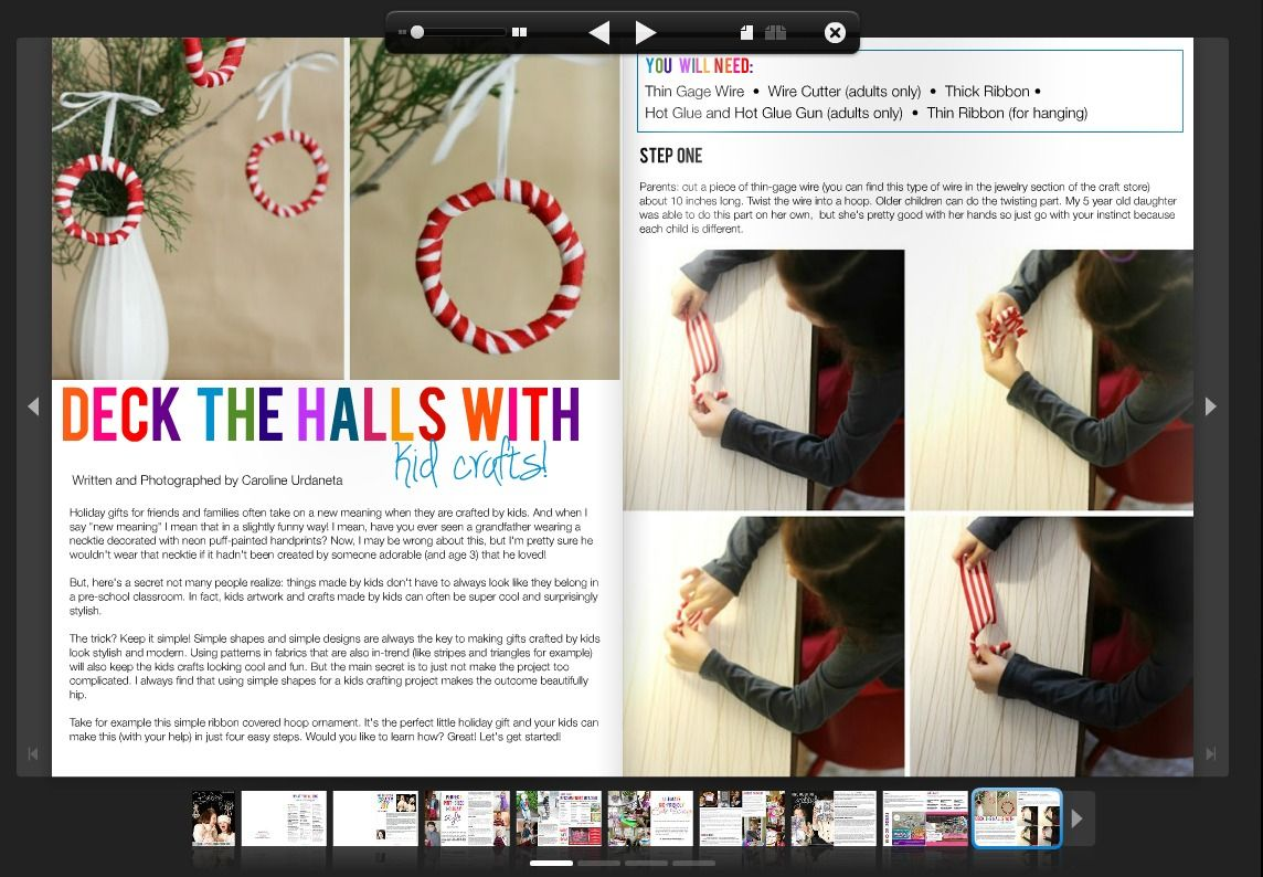 Holiday crafts from Salsa Pie to make with your kids. Happy ...