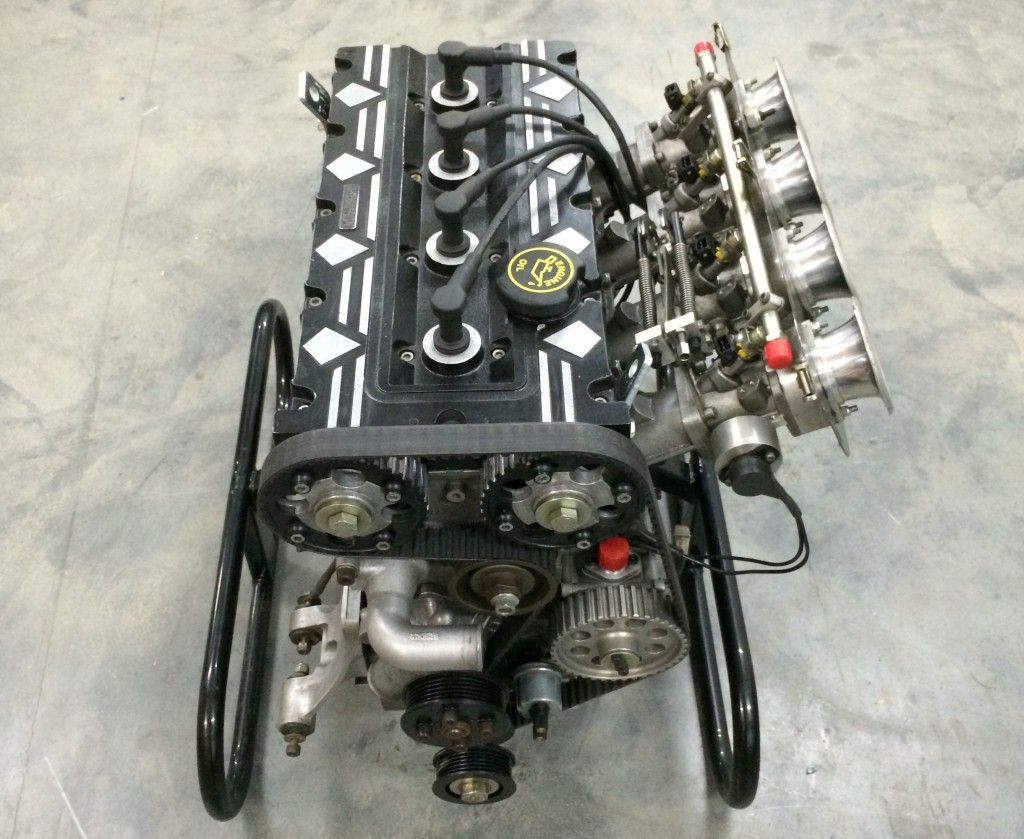 The Millington Diamond Motor A 2 5l Four Cylinder Engine