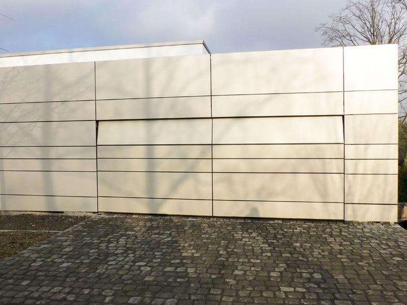 Fl chenb ndiges sektionaltor in euskirchen verkleidung alublech eloxiert architekt fachwerk4 - Architekt euskirchen ...