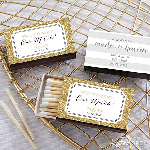 Cute designs + personalization = the perfect match! Shop all new wedding matchboxes: http://ow.ly/SGjuG