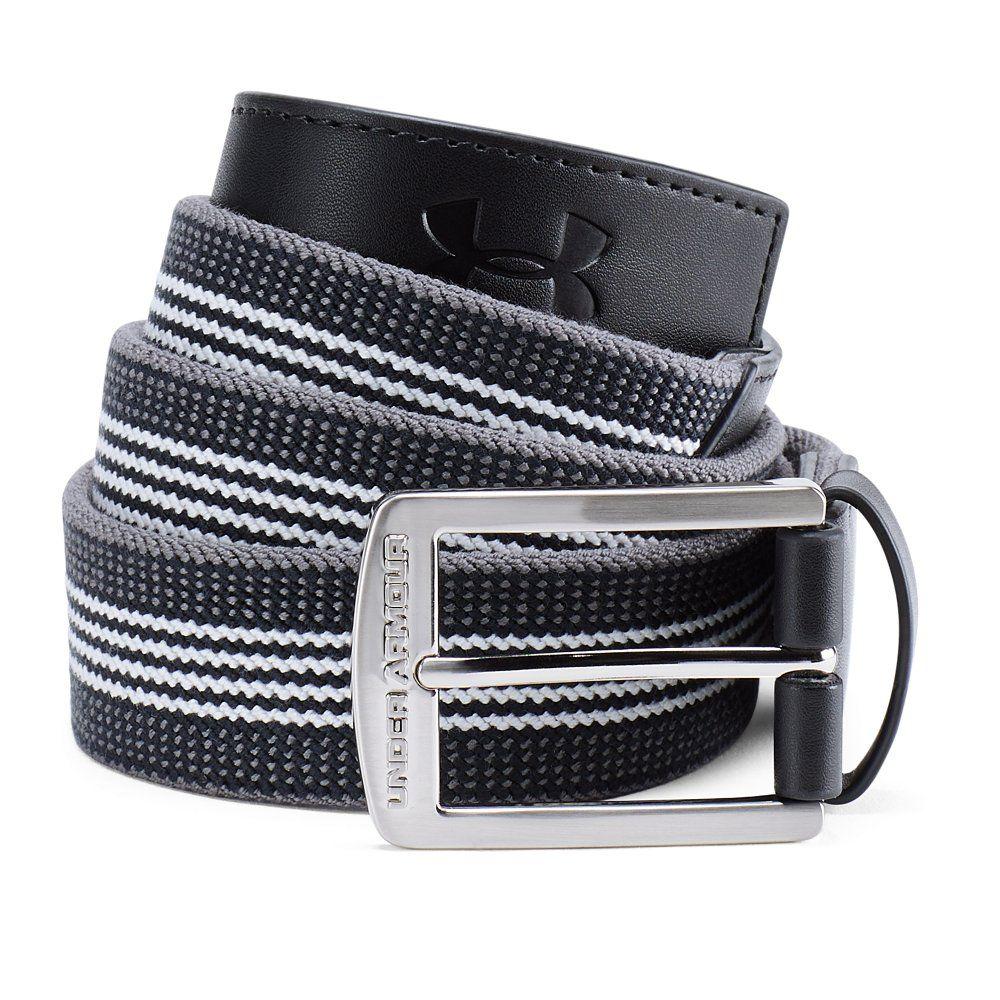 9335b60d1a Men's UA Striped Performance Stretch Belt | Under Armour US in 2019 ...