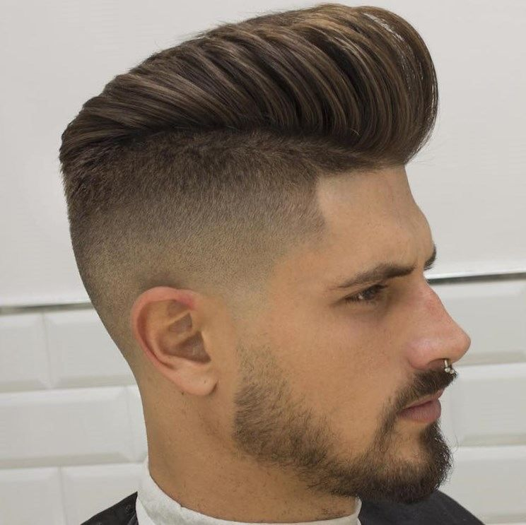New Hairstyles 10 high lo fade medium pompadour braidbarbers_high Hairstyles For Short Hair Girls 2017 Set A Great Interesting New Gallery Involving Beautiful
