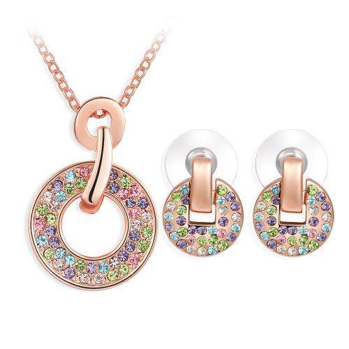 Christmas Gifts Ninabox Multicolour Swarovski Elements Crystal