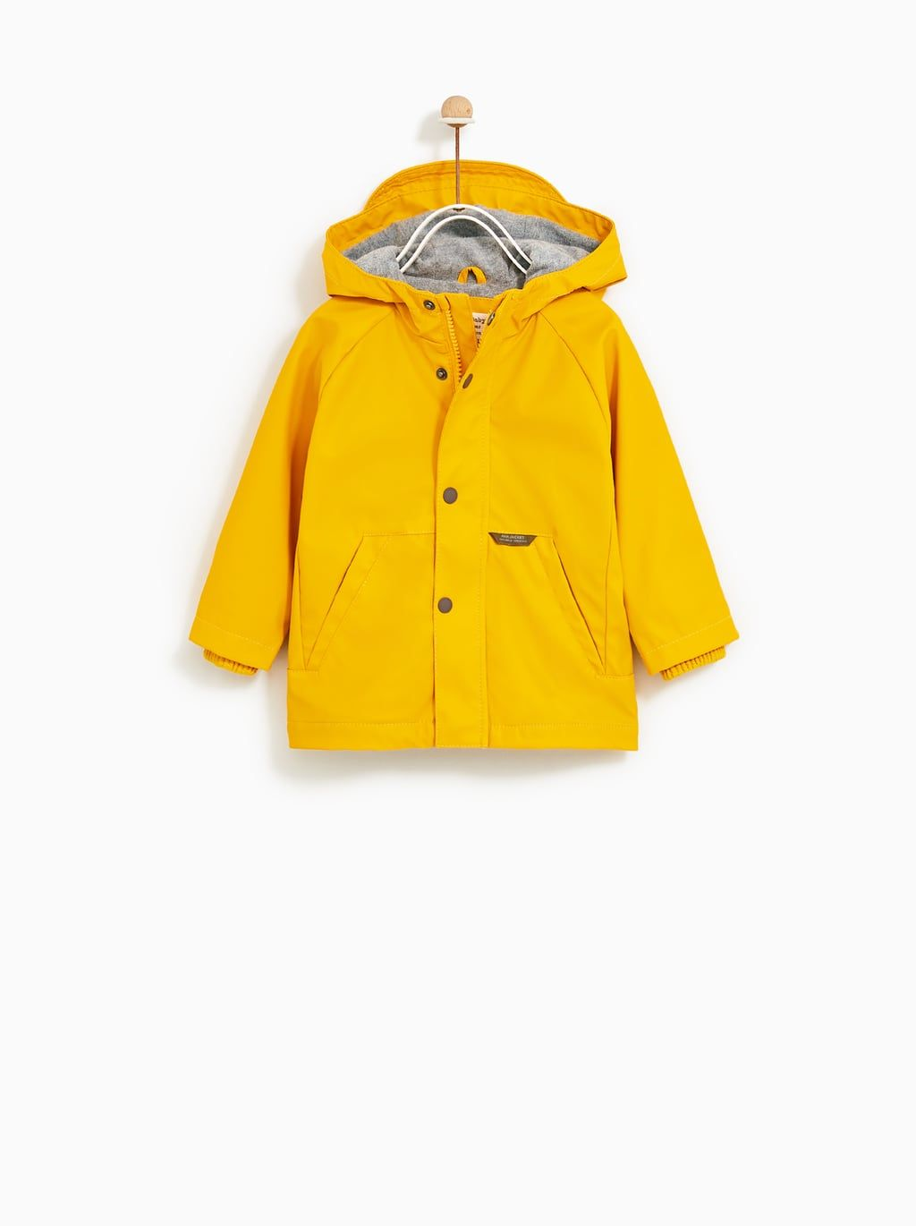 d2cbd1a17b31 RUBBERIZED PARKA - Item available in more colors ...