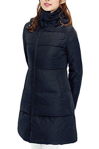 XIAOLV88 Women's Warm Winter Side Pockets Down Coat Jacket