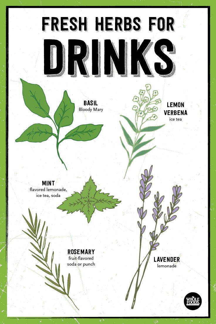 Fresh Herbs for Cocktails and Other Drinks // There are so many new ways to add flavor to your drinks. Be sure to click through and check out the 8 recipes for cocktails and mocktails!