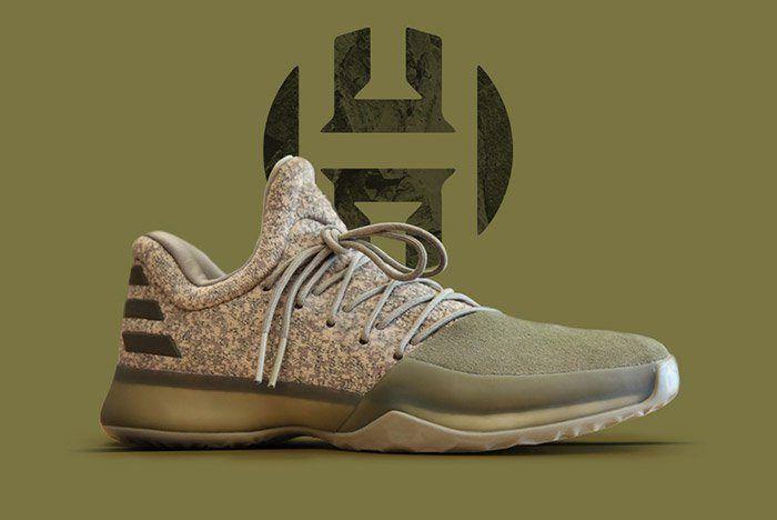 adidas Harden Vol. 1 (Cargo) Sneakers, James harden