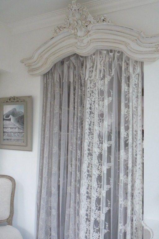 d coration rideaux d coration ciel de lit objets de d coration accessoires d co style shabby. Black Bedroom Furniture Sets. Home Design Ideas