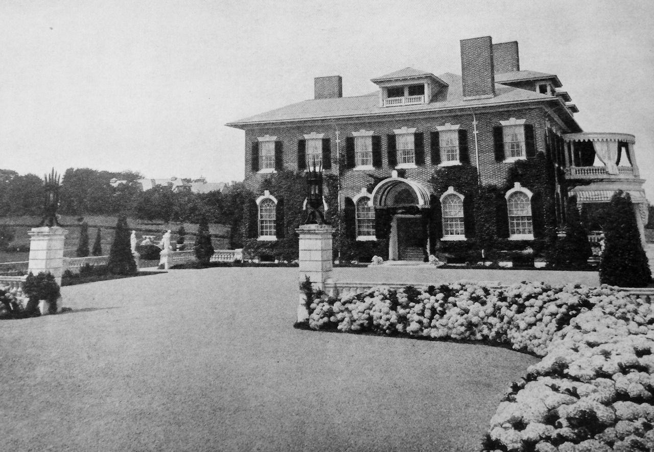 Hopedene. summer house of Elizabeth Hope Slater. Newport ...