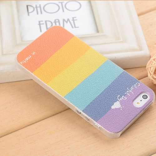 Cute Printed Rainbow Colored Back Case for iPhone 4/4s Auction starts from $1,- (free shipping) Buy it now at $10,- 7 days only!