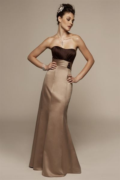 Chocolate Brown Bridesmaid Dresses, Mermaid Evening Gowns, Prom ...