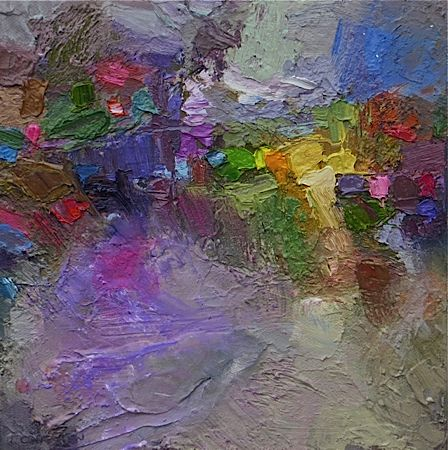 Impressions of Giverny #2 Robert Carsten oil