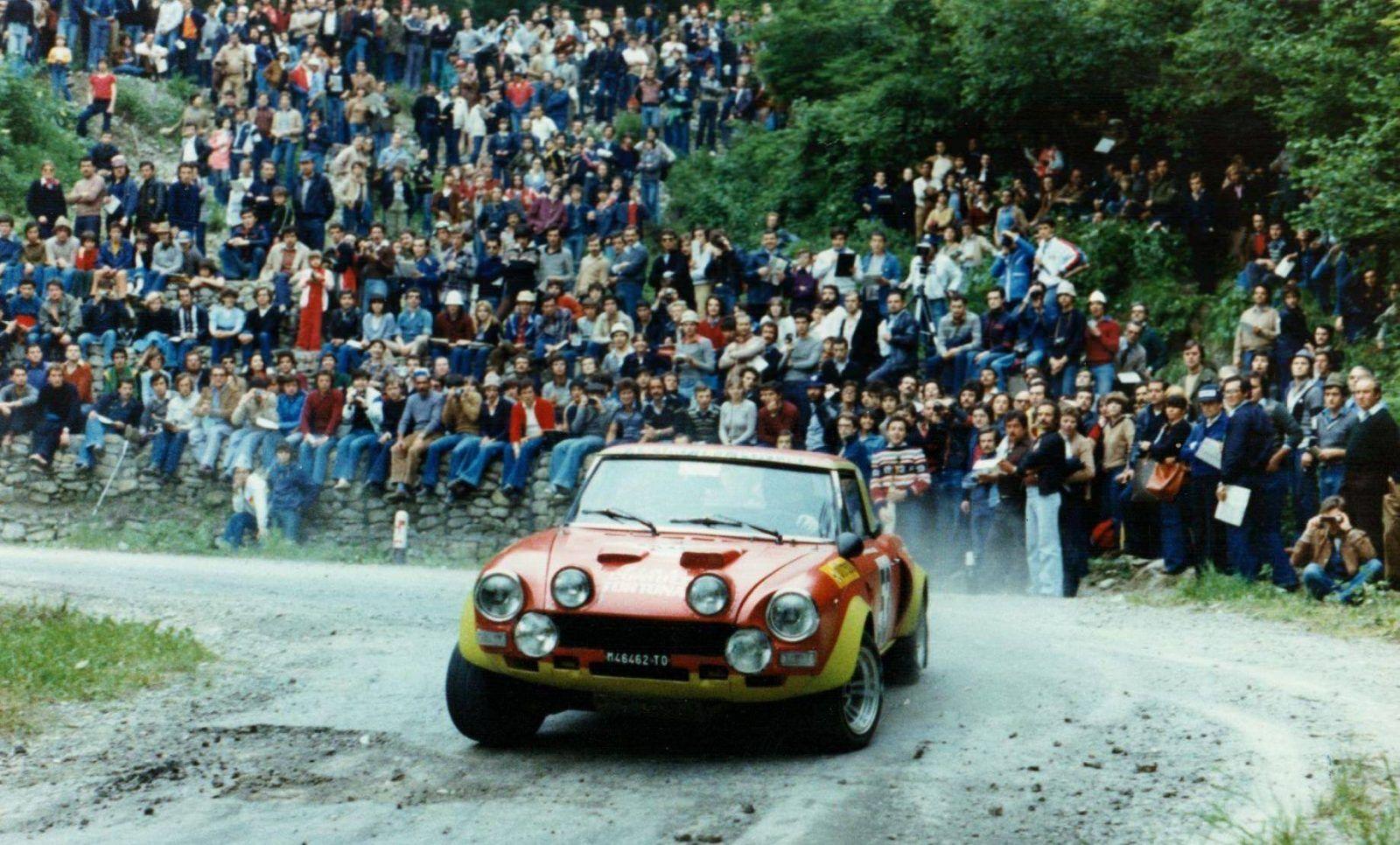 Ex Works 1975 Fiat Abarth 124 Rallye Group 4 Spider Con Immagini