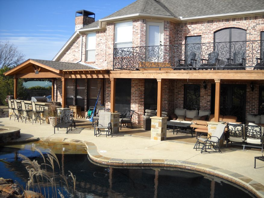 Covered Patio Additions | Fort Worth Patio Builder Makes It Look Like The  Addition Was Always