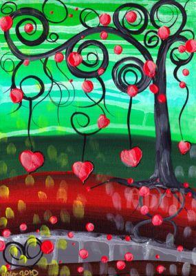 art for valentines