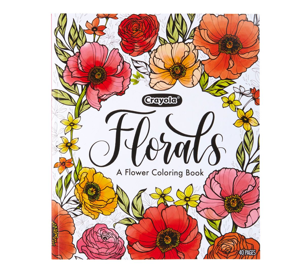 Flower Coloring Book Floral Coloring Pages Crayola Com Crayola In 2020 Coloring Books Flower Coloring Pages Coloring Pages