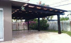 Patio King Custom Barbecue Grills Miami Pergolas Miami Pergola Outdoor Kitchen Proyectos