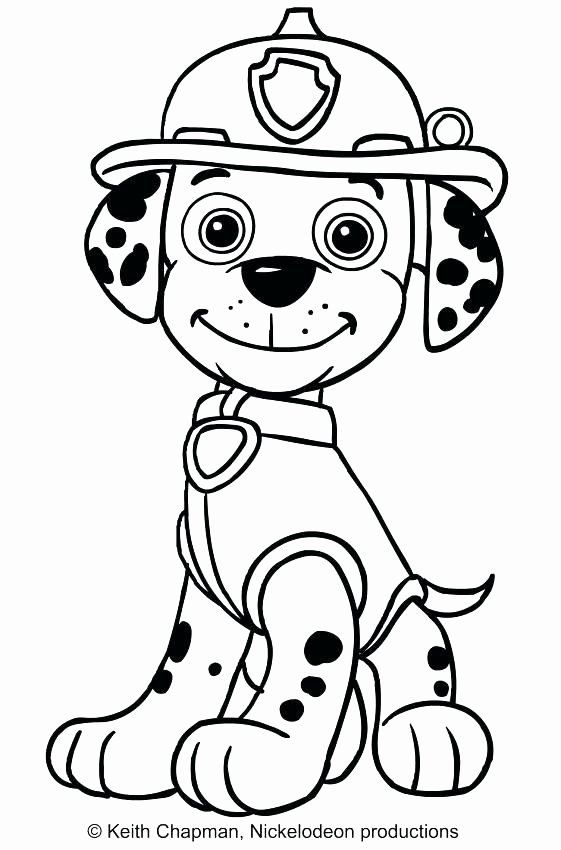 Paw Patrol Chase Coloring Page Luxury Paw Patrol Chase ...