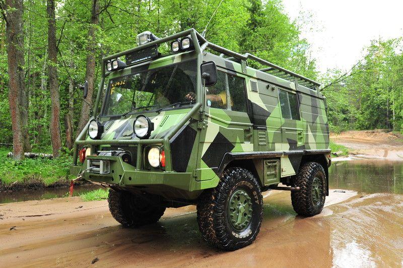 EX-ROAD—Ex-Road.ru — продажа и тюнинг внедорожников: Pinzgauer Steyr Puch (Pinzgauer/ Пинцгауер/Пинцгауэр), Hugglunds BV 206 (вездеход Лос...