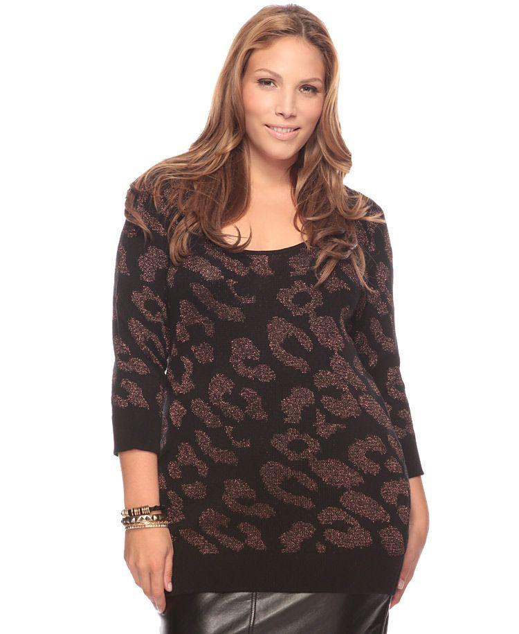 leopard print knit forever 21 plus size