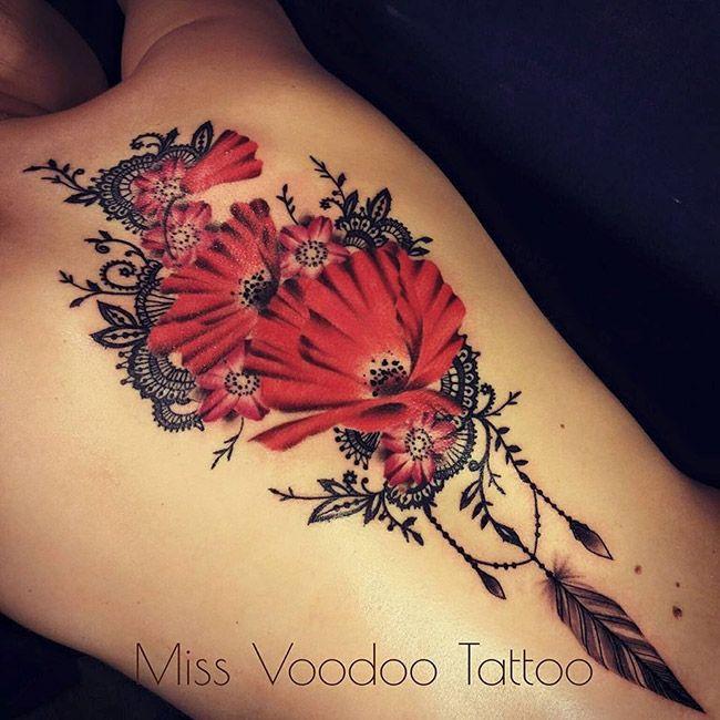 les tatouages dentelles de miss voodoo inkage tatouage pinterest le tatouage dentelle. Black Bedroom Furniture Sets. Home Design Ideas