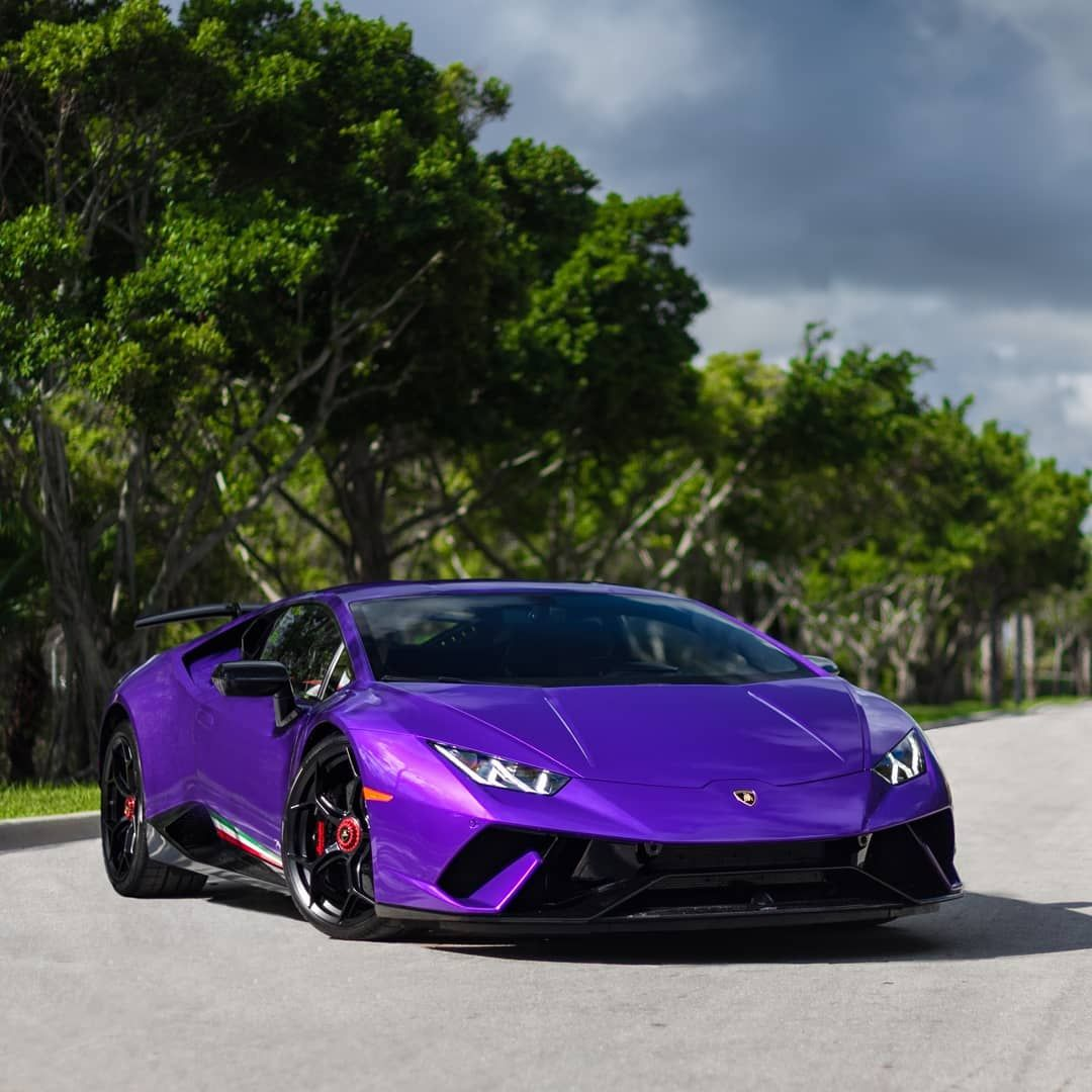 That Color Is Amazing Performante Lamborghini Purple
