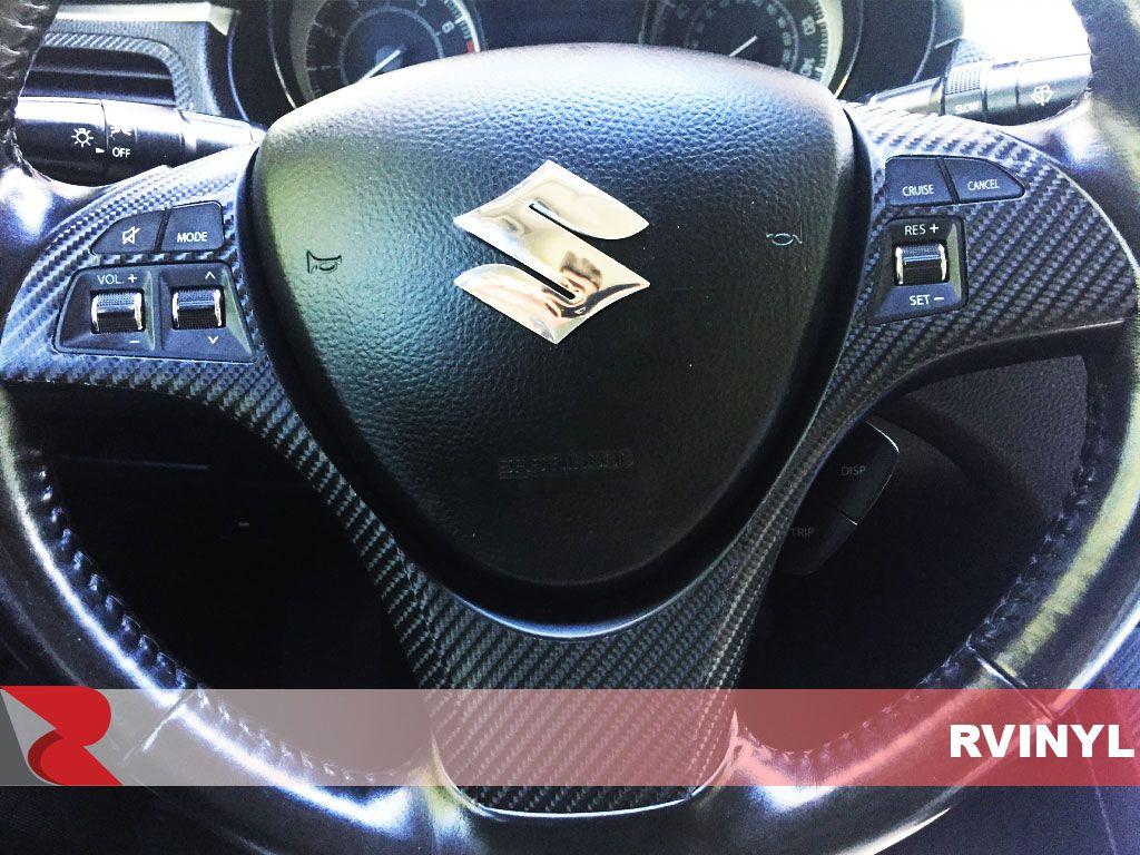 Rvinyl Rdash Dash Kit Decal Trim for Honda HR-V 2016-2020 Brushed Black Aluminum