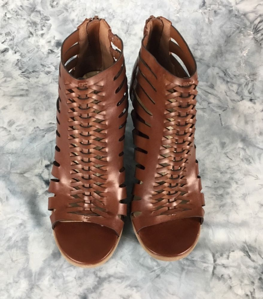 12cd3a895d2 Indigo rd Gladiator Sandal Brown Women s Sz 8 M Back Zip Stacked Heels  Brand New  fashion  clothing  shoes  accessories  womensshoes  heels (ebay  link)