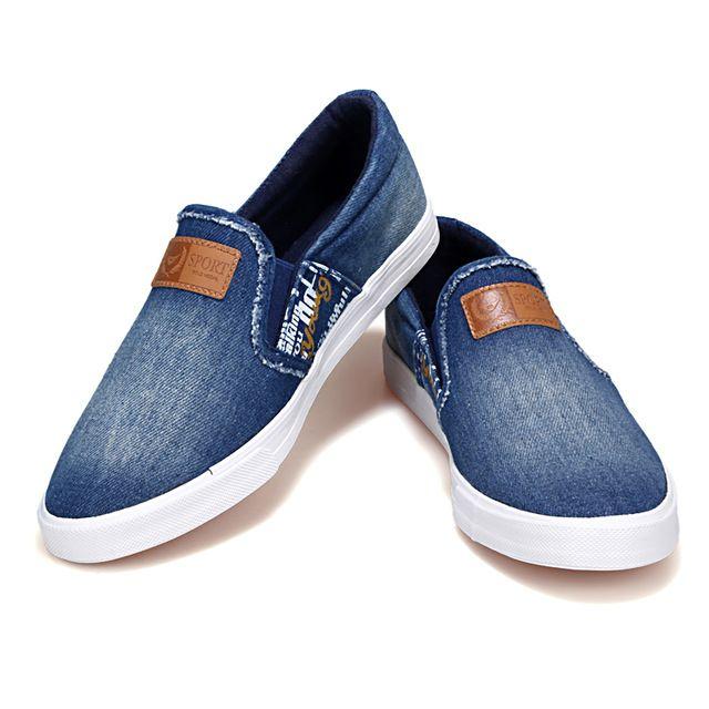 Hombres primavera Verano Moda Transpirable de Zapatos de Transpirable Deslizamiento 1c37dc