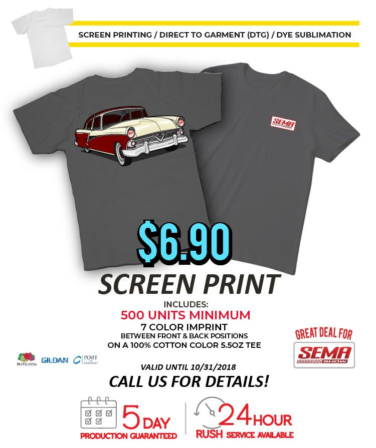 Screen Printing Services from Tee for 2 | Promotional