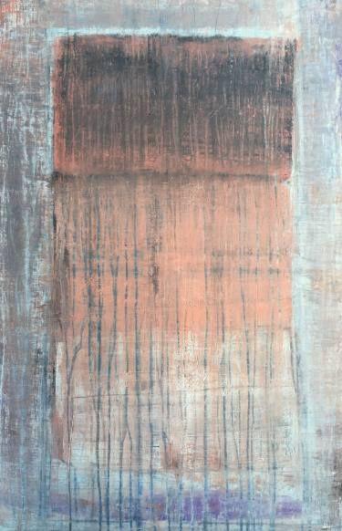 "Saatchi Art Artist Roger König; Painting, """"rusty red A1"""" #art"