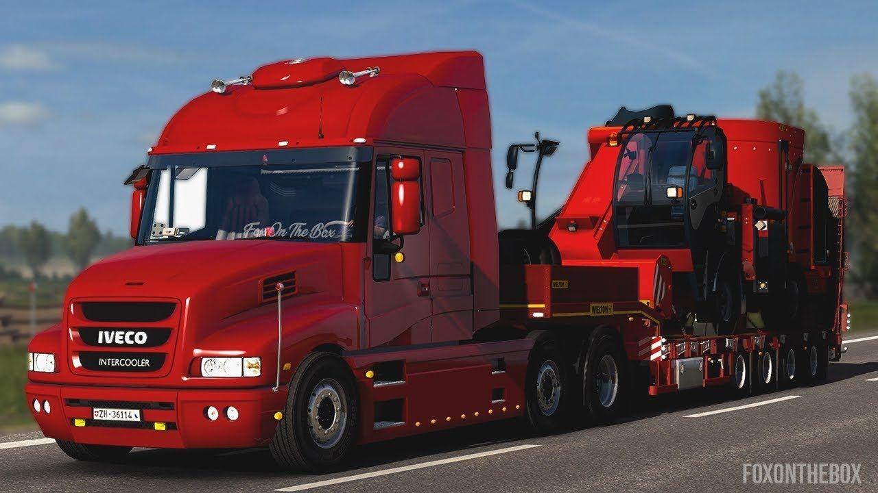 Iveco Strator V 50 Euro Truck Simulator 2 Mod
