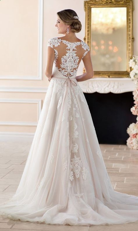 33 Beautiful Lace Wedding Dresses You Will Love - Mrs to Be