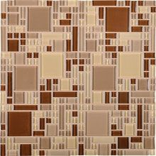 Not my favorite, but this would be an homage to the vinyl flooring that was in the kitchen when we bought the house.  Daltile CT20-BLRANDMS1P