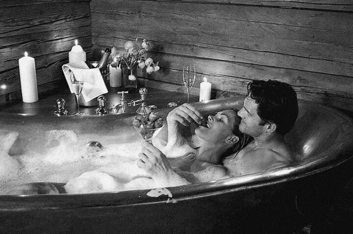 Take A Romantic Bath Together
