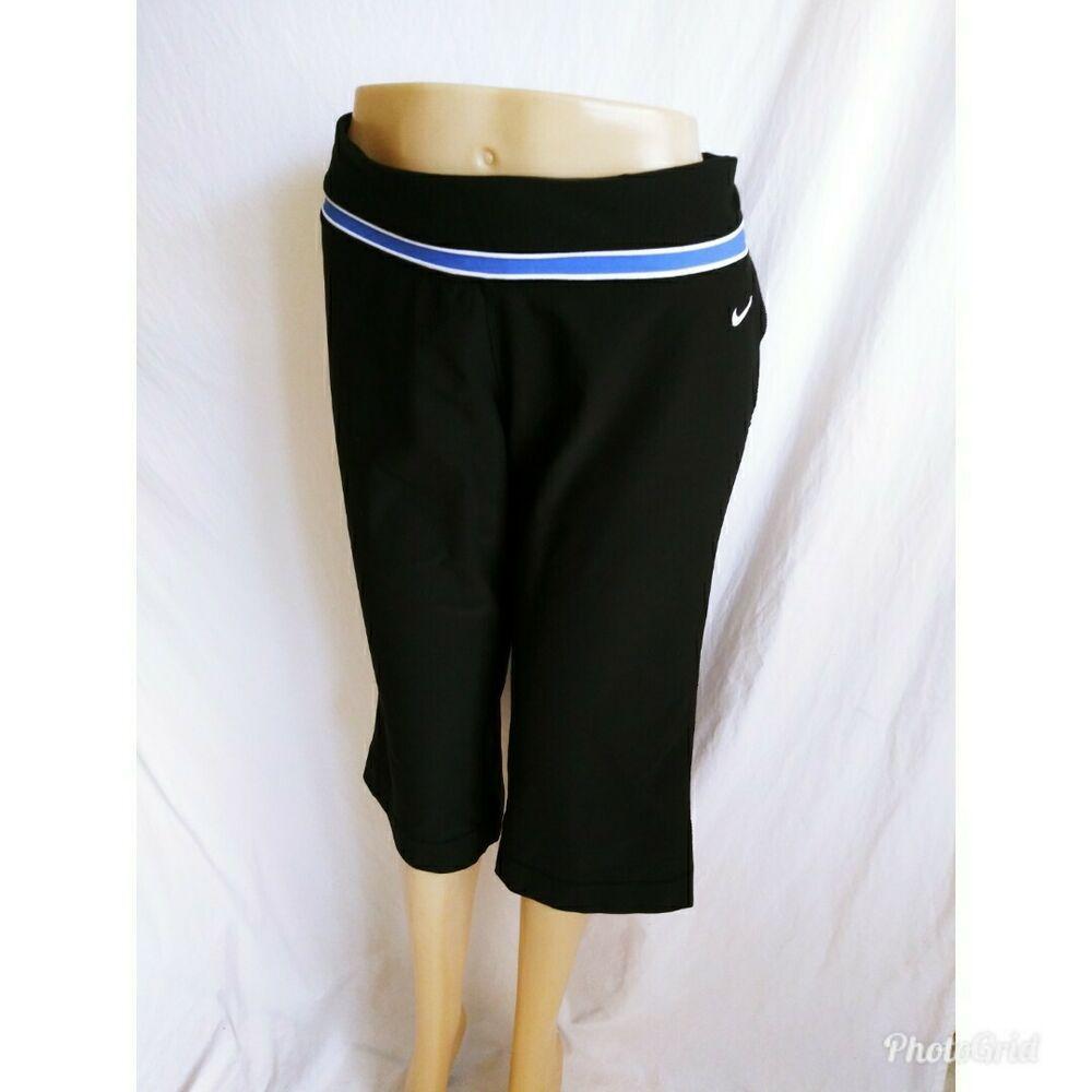 Nike drifit womens size xl capri fitness workout pants