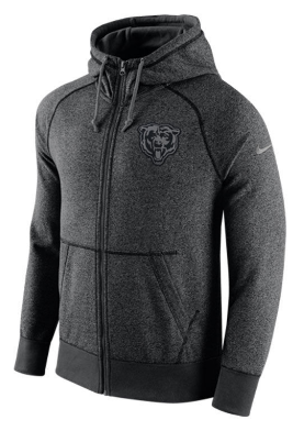 wholesale dealer dd06c 6ed3e Mens Chicago Bears Gridiron Full Zip Hoodie | Products ...