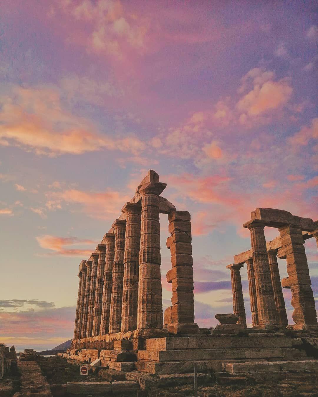 Poseidon Temple Capesounion Ictinus Ancient Greece Archeology Myths Legends Ancient Greek Architecture Ancient Greece Architecture Ancient Greece Art