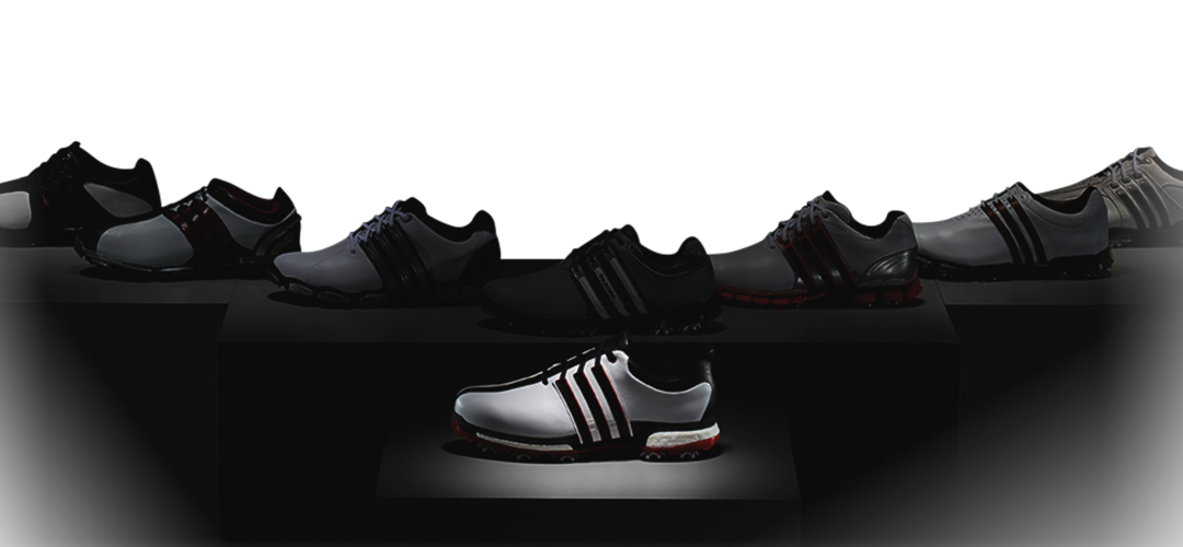 Adidas' Anniversary Shoe; The TOUR360 BOOST - http://www.teetimes.info/adidas-anniversary-shoe-the-tour360-boost/