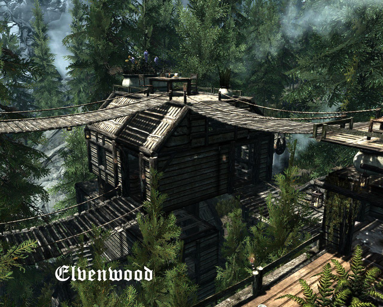 Elvenwood at Skyrim Nexus mods and community Skyrim