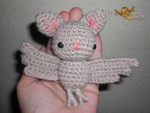 Halloween Amigurumi Crochet Pattern : El búho costurero: reto halloween: amigurumi murciélago. hook