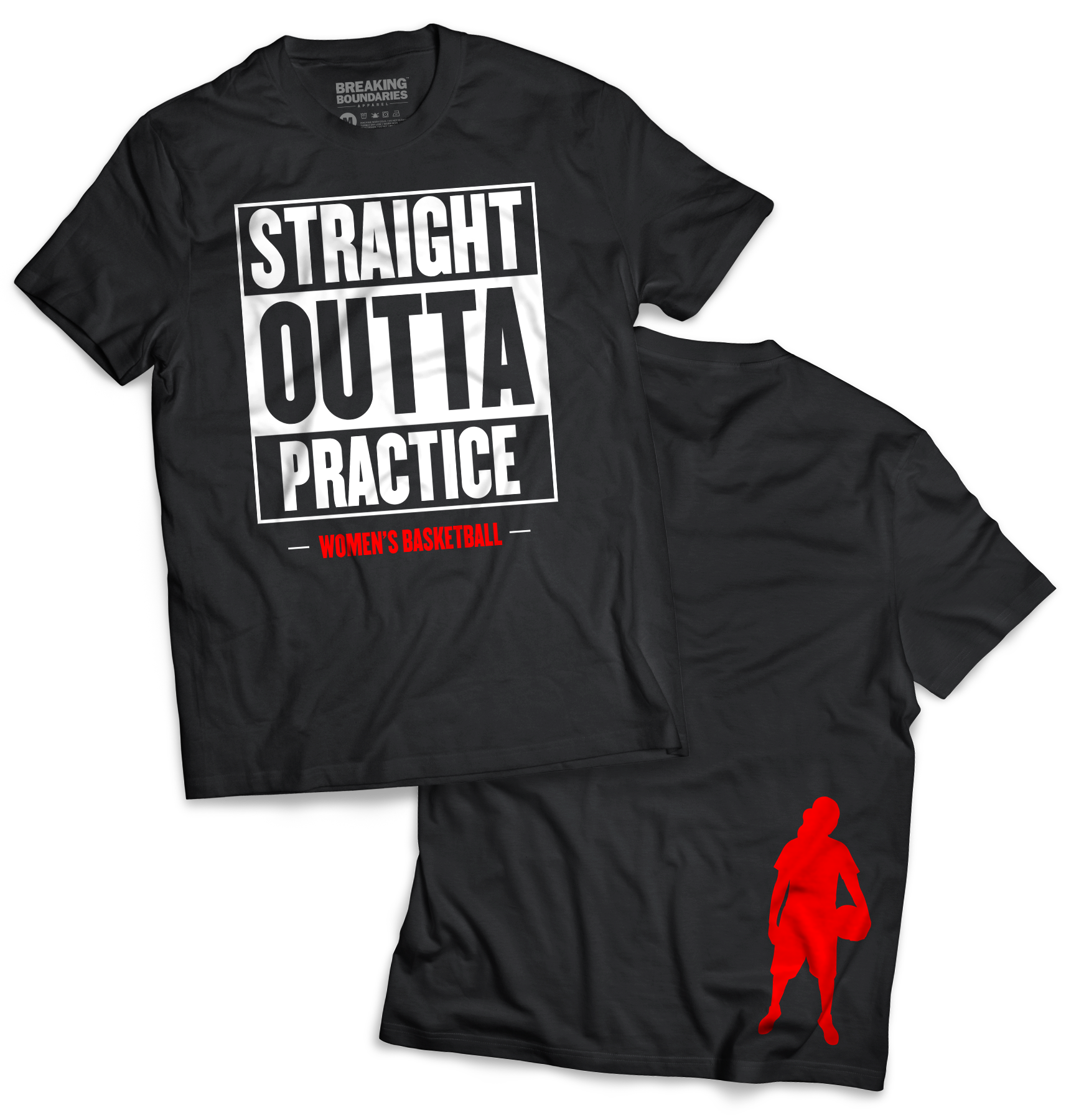 Straight Outta Practice Tee - Women s Basketball. Straight Outta Practice  Tee - Women s Basketball Funny Volleyball Shirts ... fff70b3c36