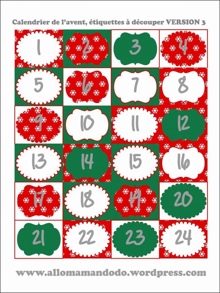 Numero Calendrier De L Avent A Imprimer Calendrier De Lavent Sapin A Colorier Gabarit 3 #numerocalendrieraventaimprimer
