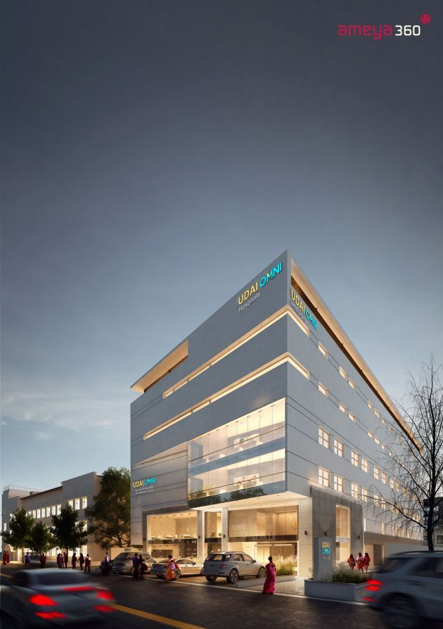 Health care architecture medical center