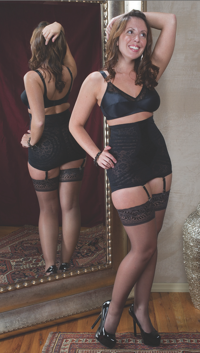 64bcbecd6  RagoShapewear Bra (Style 2190) and Extra Firm Shaping High Waist Panty  Brief (Style 6107)