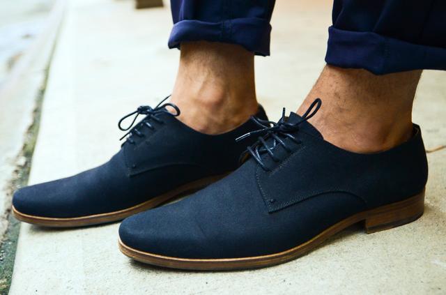 Blue suede shoes, Mens fashion, Shoes mens