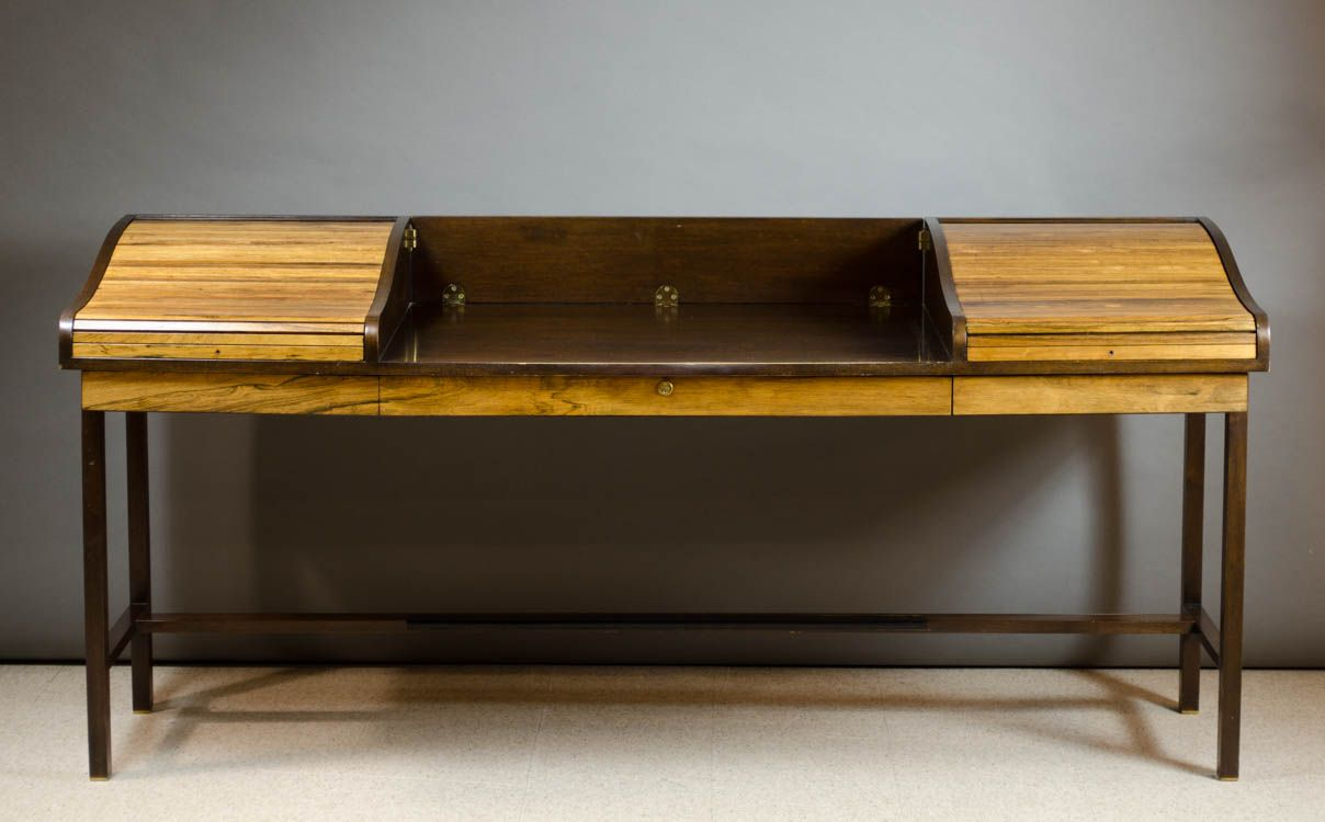 Mid Century Modern Desk, Edward Wormley Design By Dunbar Furniture Co. Lot  0616