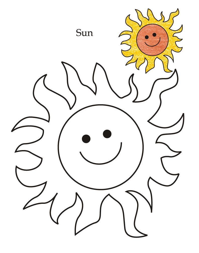 12 Level sun coloring page Download Free 12 Level sun coloring ...
