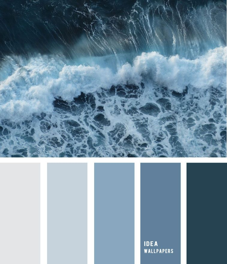 Bathroom Color Palettes: Sea Foam And Blue Grey Color Palette 19052210