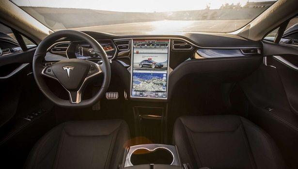 2017 Tesla Model S Interior Tesla Pinterest Cars Tesla